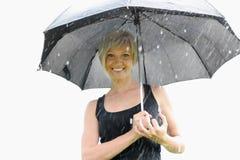 wizerunku parasola kobieta obrazy stock