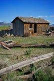 wizerunku starej chałupy Utah pionowo drewniany Fotografia Stock