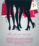 wizerunku zakupy valentines wektor Obraz Stock