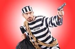 Więzień przestępca Fotografia Stock
