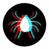 Wizualny insekt royalty ilustracja