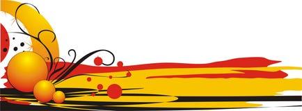 wizytówka elementów logo dekoracyjny Zdjęcia Royalty Free