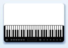 wizytówka musical Zdjęcia Stock