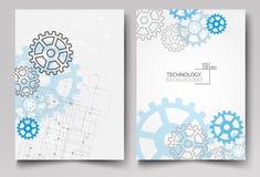 Wizytówka projekta tło dla technologia projekta royalty ilustracja