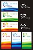 wizytówka set Fotografia Stock