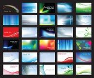 wizytówka szablon Obrazy Stock