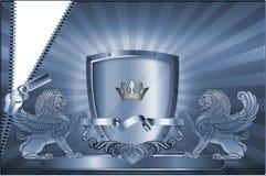 wizytówka szablon Zdjęcie Royalty Free