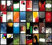 wizytówka szablony Obrazy Stock