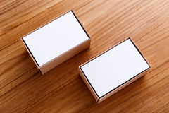 Wizytówka w pudełku Obraz Royalty Free