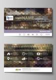 wizytówka wykonuje gradienty żadni szablony Łatwy editable układ, wektorowy projekta szablon Abstrakcjonistyczni stubarwni tła _ ilustracji