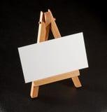 Wizytówki na stojaku Fotografia Stock