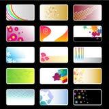 Wizytówki Ustawiać Fotografia Stock
