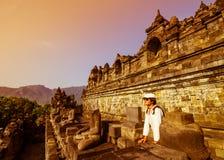 Wizyta Borobudur zdjęcie royalty free
