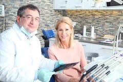 Wizyta przy dentystą Obrazy Royalty Free