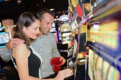 Wizyta w kasynie Fotografia Royalty Free