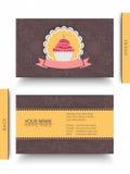 Wizytówka dla cukierki domu Fotografia Stock