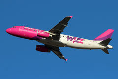 Wizz Air Lizenzfreie Stockfotos