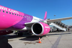 Wizz Air Imagens de Stock Royalty Free