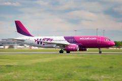 Wizz Air Royaltyfria Foton