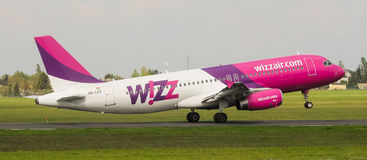 Wizz Air Airbus A320-232 Imagens de Stock Royalty Free