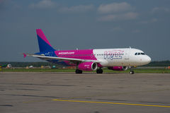 Wizz Air Airbus A320 royalty free stock image