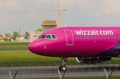 Wizz Air flygbuss A320-232 Arkivbilder