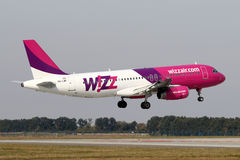 Wizz Air Royalty Free Stock Photography
