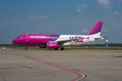 Wizz Luft Airbus A320 Lizenzfreies Stockbild