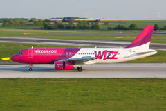 A320 Wizzair Stockbild