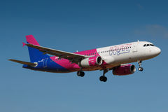 Wizzair Royaltyfria Bilder