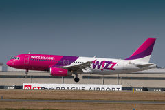Wizzair Fotografia de Stock Royalty Free