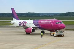 Wizzair Photos stock
