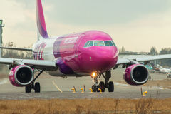 Wizzair Airbus A320 Photographie stock libre de droits