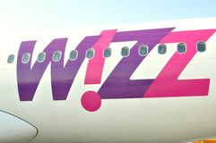 Wizzair Airlines company logo Royalty Free Stock Image