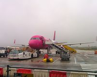 Wizzair boarding Royalty Free Stock Photography