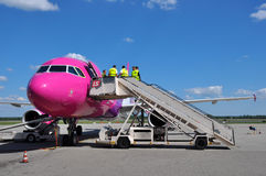 Wizzair crew Stock Photography
