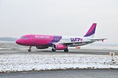 Wizzair plane Stock Image