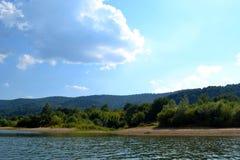 Wka de ³ de Klimkà de lac, Pologne Image stock