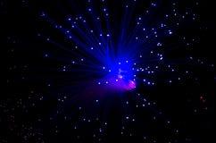 Włókno światłowodowe Fotografia Royalty Free