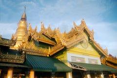 Wkrótce U Pone Nya goleni pagoda, Myanmar Obraz Royalty Free