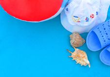 Wkrótce wakacje przy morzem Obrazy Royalty Free