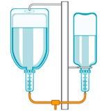 wkraplacza intravenous Obrazy Royalty Free
