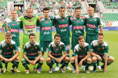 Wks Slask Wroclaw team Royalty Free Stock Photos