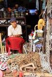 Wlaściciel sklepu, Ho Chi Minh miasto, Wietnam Zdjęcie Stock