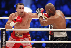 Wladimir Klitschko vs. Tony Thompson Stock Images