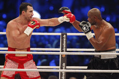 Wladimir Klitschko vs. Tony Thompson Royalty Free Stock Photography