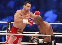 Wladimir Klitschko vs. Tony Thompson Stock Photography