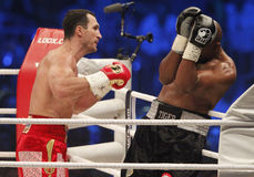Wladimir Klitschko vs. Tony Thompson Royalty Free Stock Images