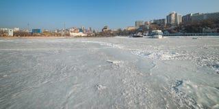 Wladiwostok-Stadtbild Lizenzfreies Stockfoto