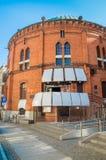 Wladyslaw Dziewulski天文馆Buiding在托伦老镇  库存图片